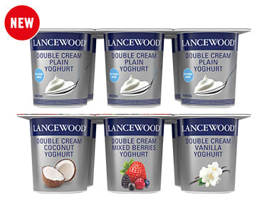 Double Cream Yoghurt Multipack