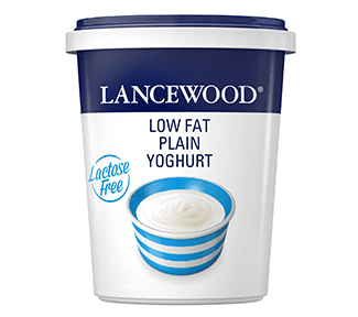 Lactose Free Low Fat Plain Yoghurt