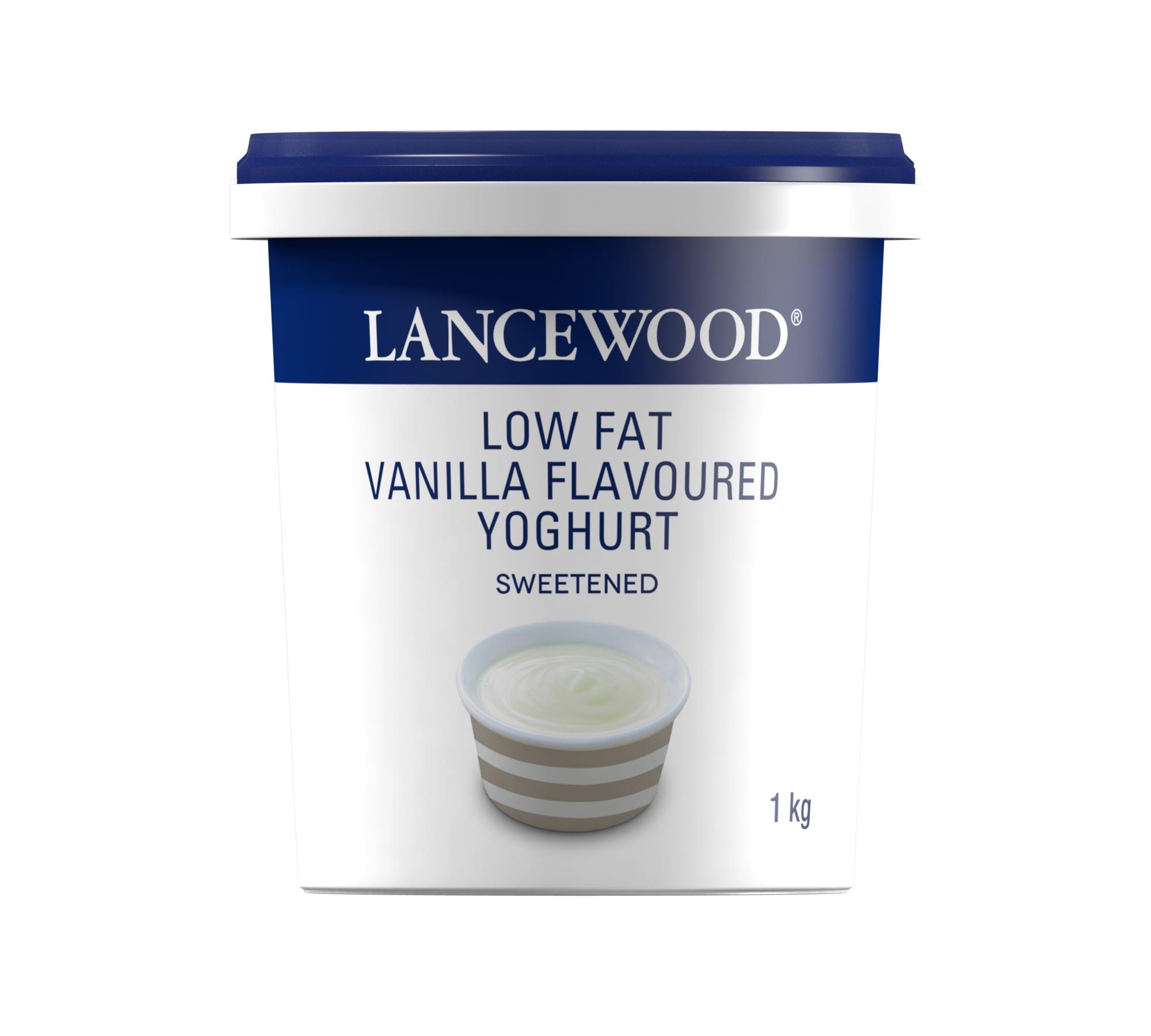 Vanilla Flavoured Yoghurt
