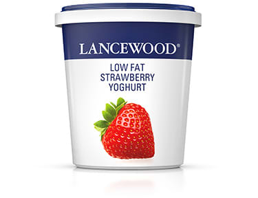 Low Fat Strawberry Yoghurt