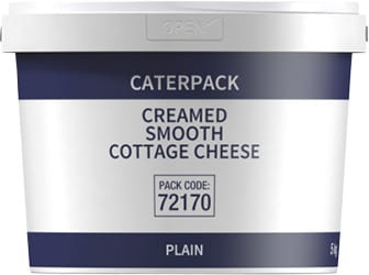 Caterpack Creamed Smooth Cottage Cheese