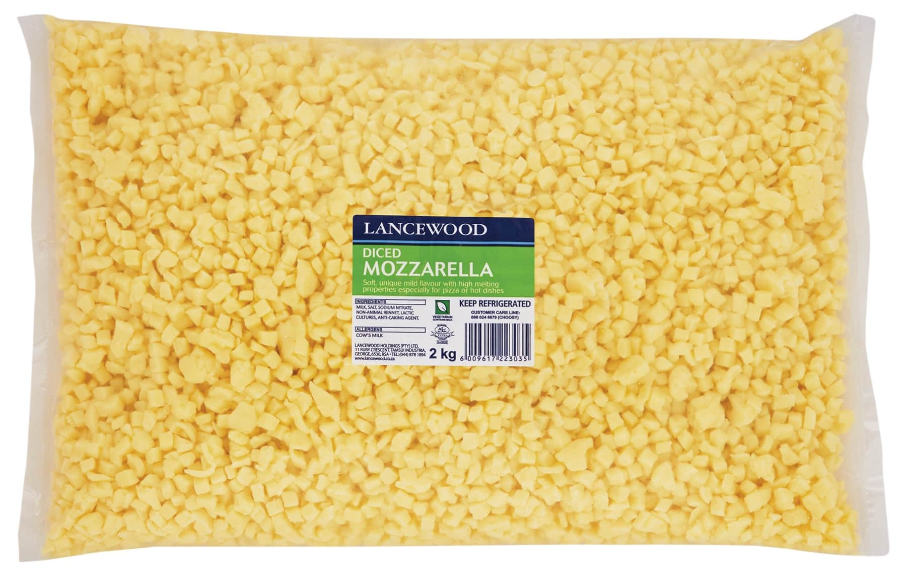 Mozzarella Diced FSI