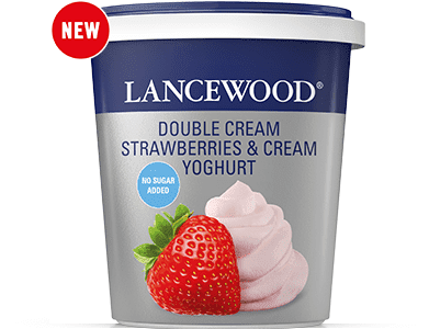 Double Cream Strawberries & Cream Yoghurt