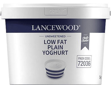 Low Fat Plain Yoghurt