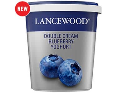Double Cream Blueberry Yoghurt