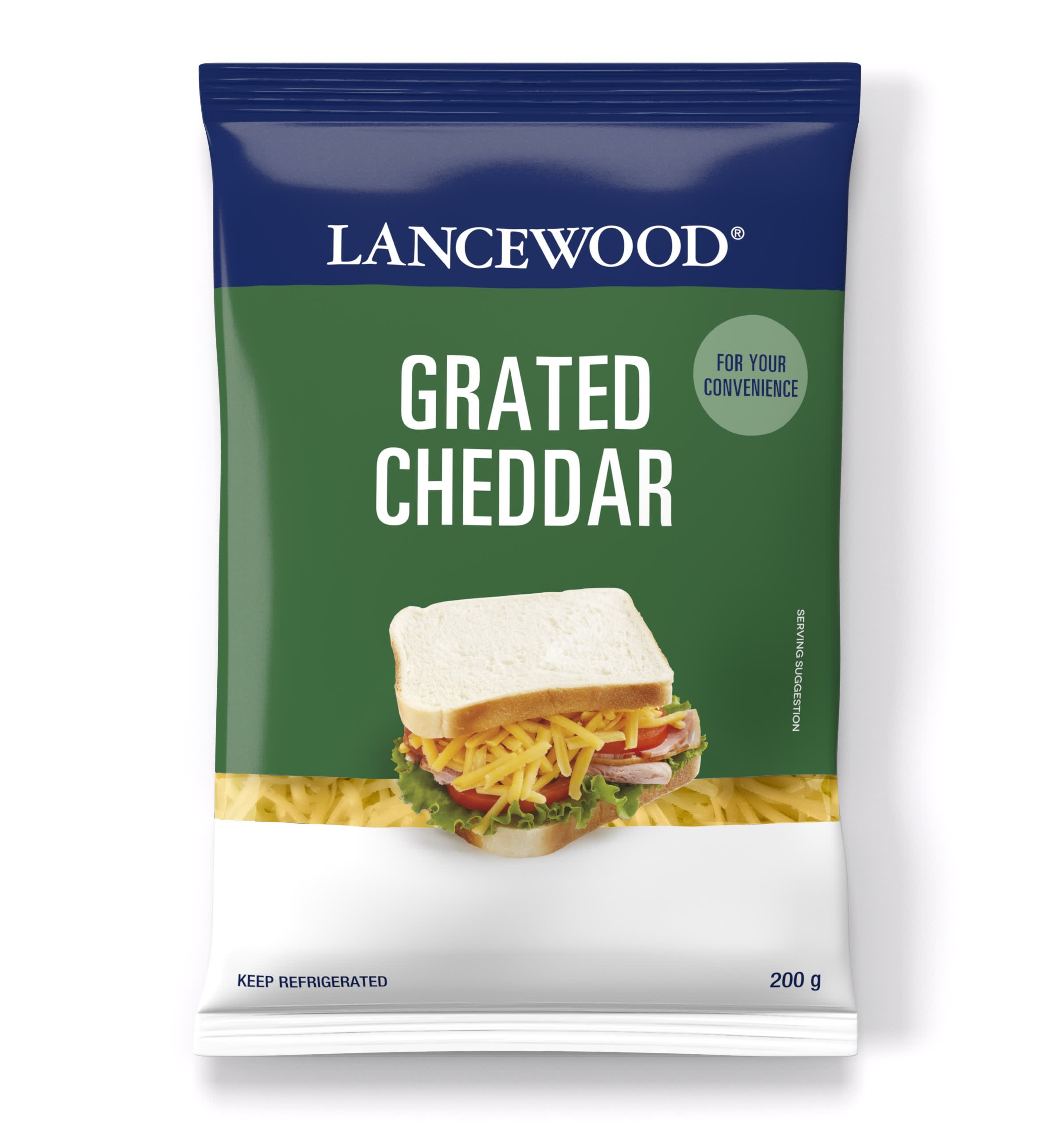 Cheddar Grated