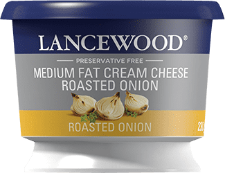 Roasted Onion Cream Cheese