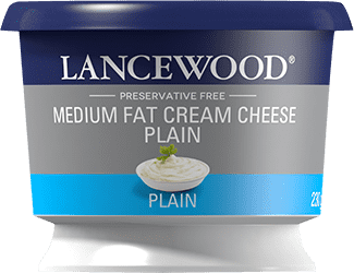 Medium Fat Plain Cream Cheese