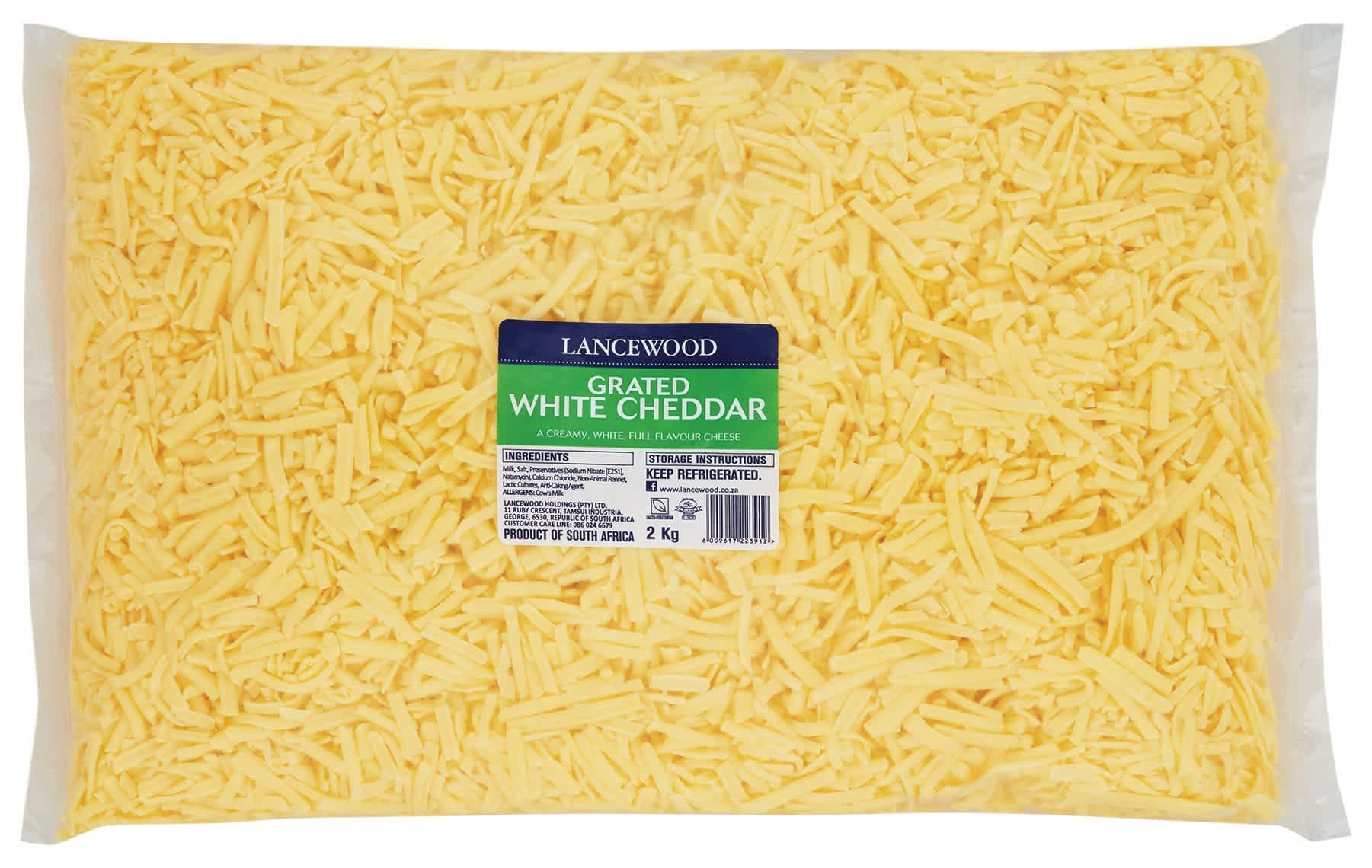 White Cheddar Grated FSI