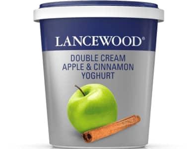 Double Cream Apple & Cinnamon Yoghurt