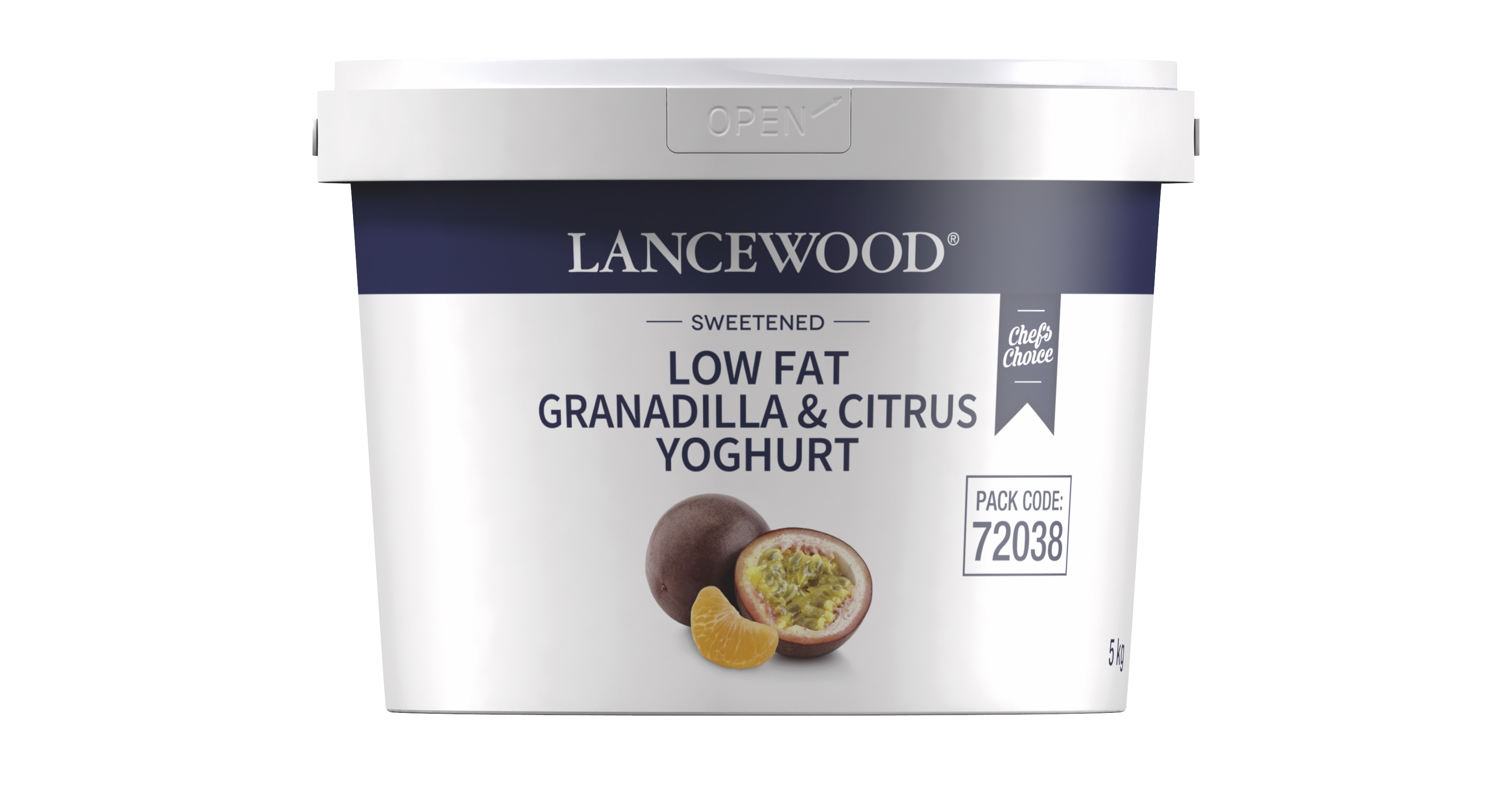 Low Fat Granadilla & Citrus Yoghurt