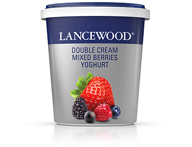 Double Cream Mixed Berries Yoghurt
