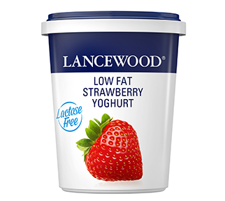 Lactose Free Low Fat Strawberry Yoghurt