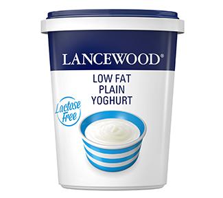 Lactose Free Low Fat Plain Yoghurt