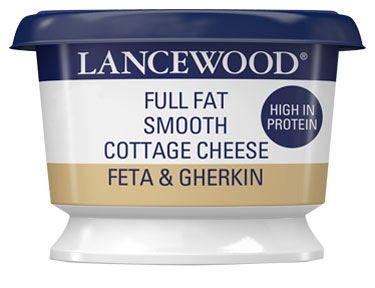 Full Fat Smooth Feta & Gherkin Cottage Cheese