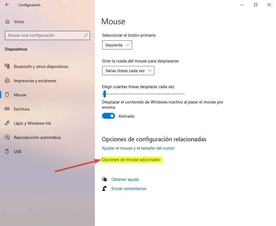 No pierdas nunca de vista tu ratón con esta función de Windows 2