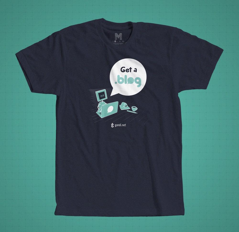 blog domain t-shirt