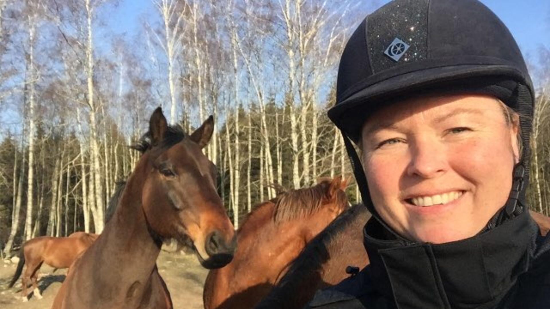 Lär känna vår hästlärare Lisa