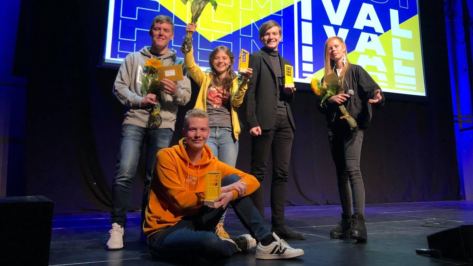 Elever på Estet-Media vann i år igen på Exit Filmfestival