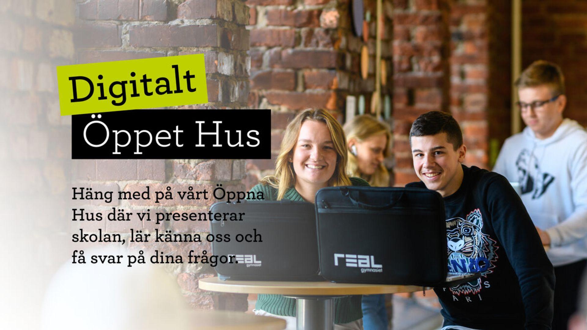 Digitalt Öppet Hus 5/11!
