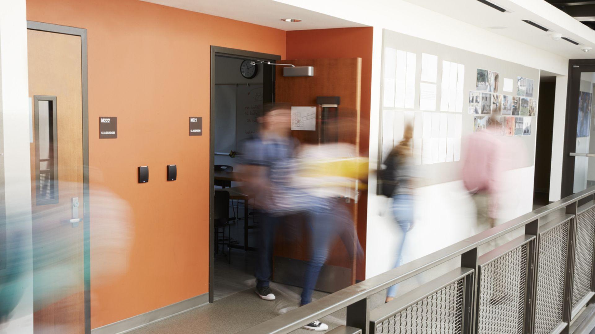 Elever från Vikskolan flyttar till Grimstaskolan