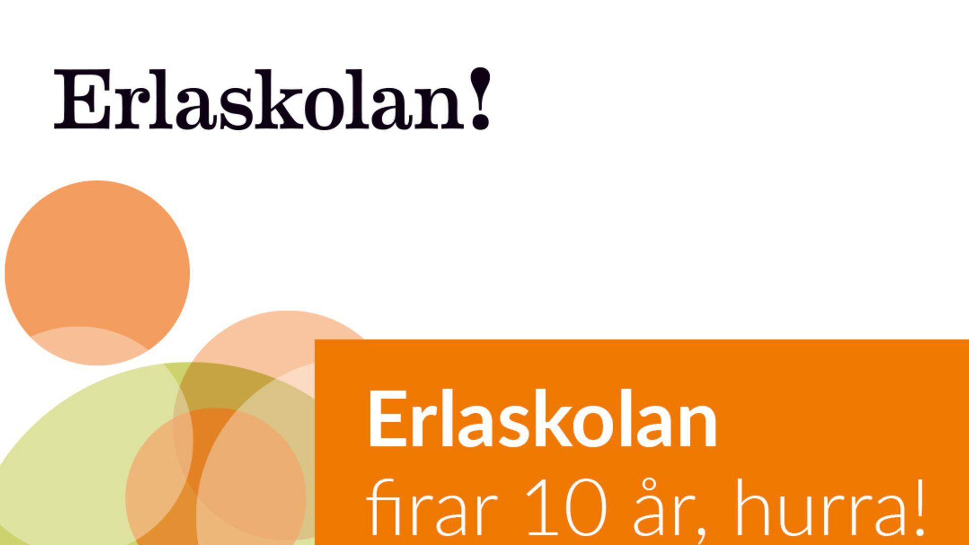 Utomhusdisco och popcornmaskin  när Erlaskolan Östra firade 10-årsjubileum!