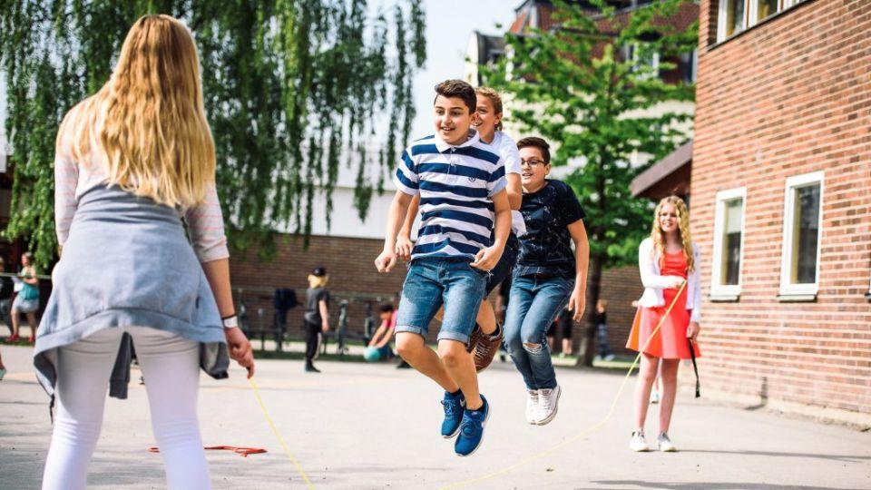 Elever på Erlaskolan Östra skapar trivsel