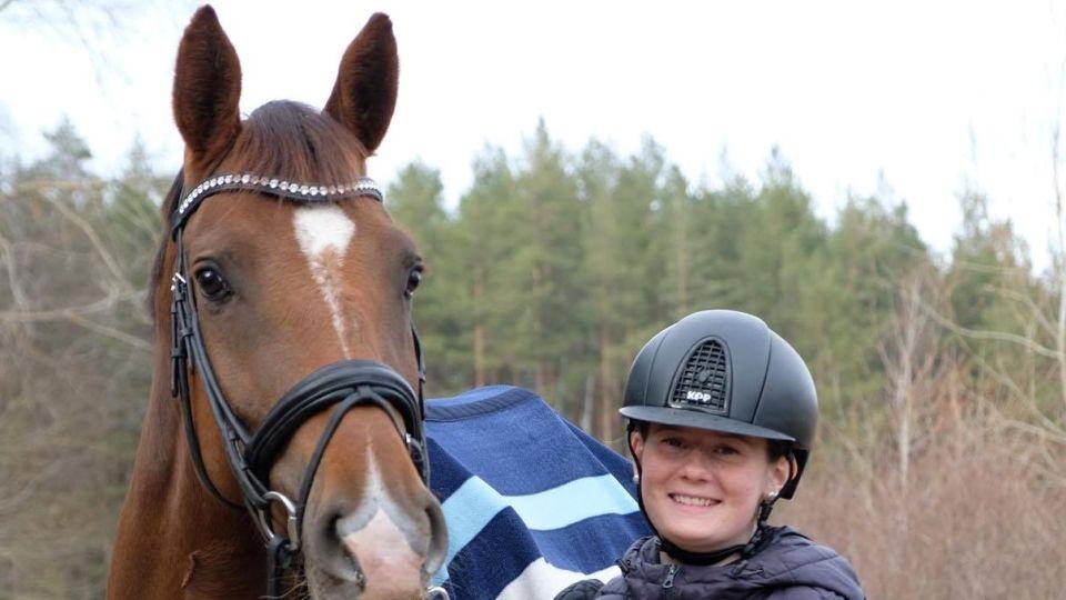 Jag har haft stor nytta av utbildningens hästkunskap.
