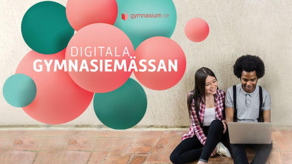 Besök oss på Sveriges största digitala gymnasiemässa!