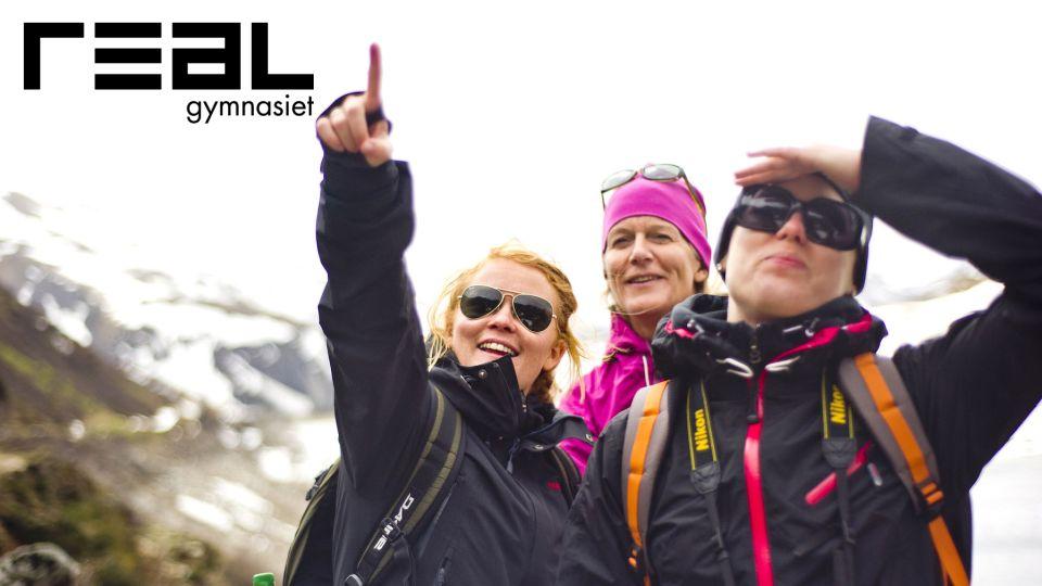 Elever på Realgymnasiets Natur & äventyrsutbildning  blir certifierade Naturguider
