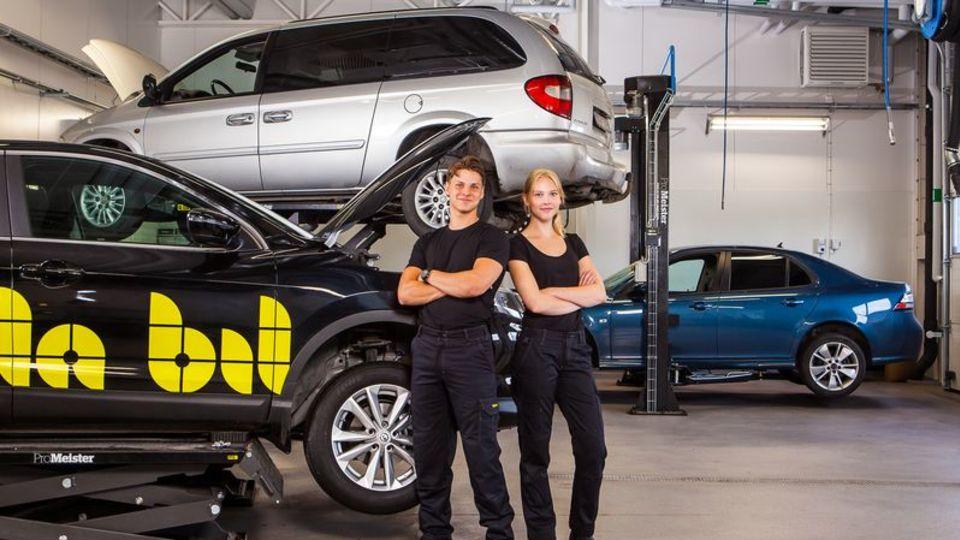 Våra elever lär av det bästa i fordonsbranschen