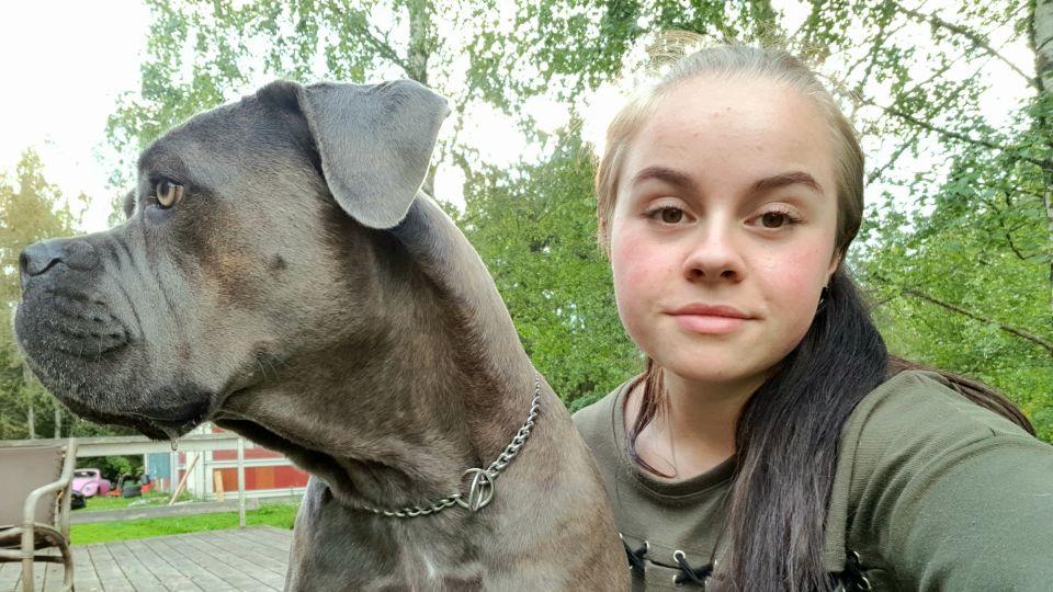 Jolina fick jobb som djurvårdare