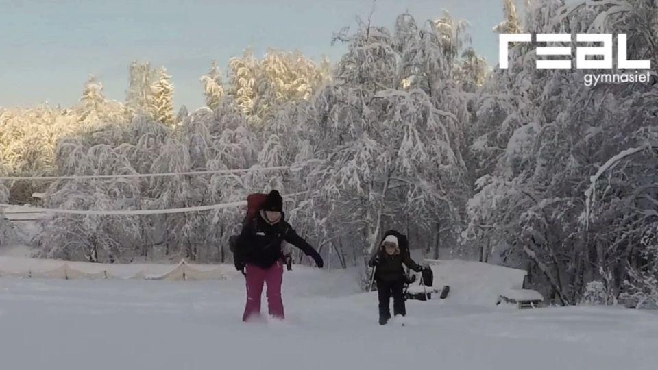 Natur & Äventyr visar vinteraktiviteter