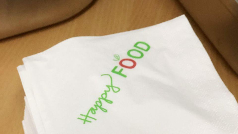 Happy Food serverar vår skollunch