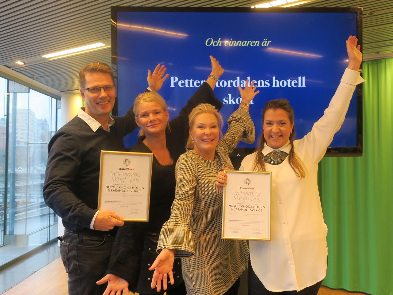 Realgymnasiets nya hotellutbildning  vinner pris som bästa banbrytare