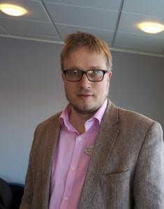 Fredric Hillertz, ordförande i Falkenberg