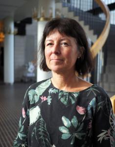 Sonja Stranne, ordförande för Lärarförbundet i Ronneby