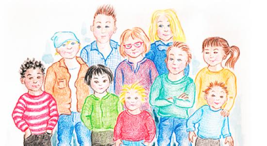 Manga stora barngrupper i malmo