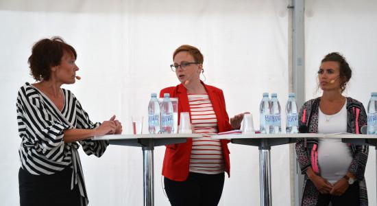 Järvaveckan Lisa Heino Maria Rött och Katarina Danielsson