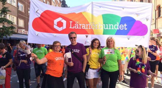 Stockholm Pride 2015 inför paraden