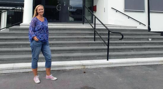 Anette Almström Kovacic, ordförande Lärarförbundet Sandviken