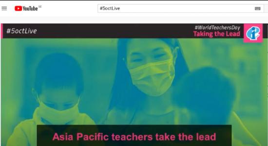 EI Världslärardagen 5 okt  Youtube 3