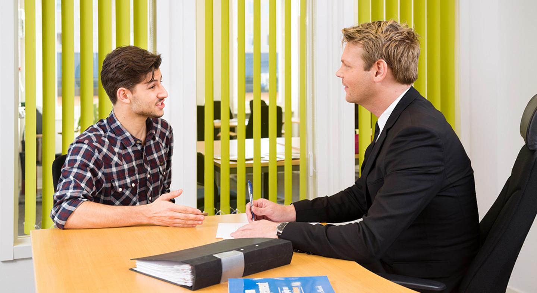 Anstallningsintervju