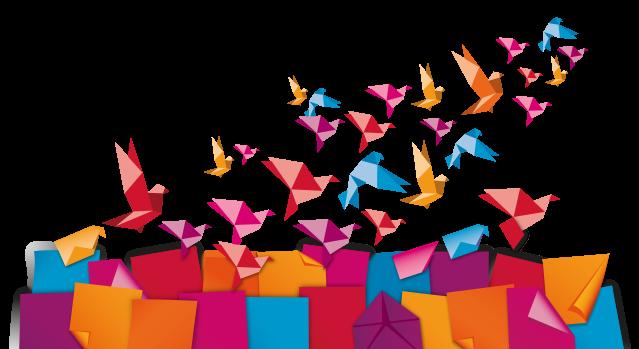 Origami birds2