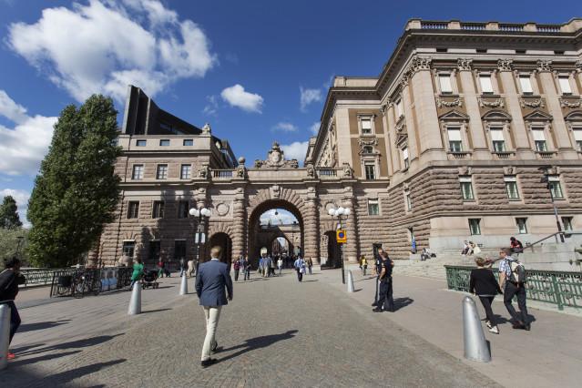 Riksdagshuset sommar 14