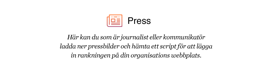 Pressmaterial för journalister