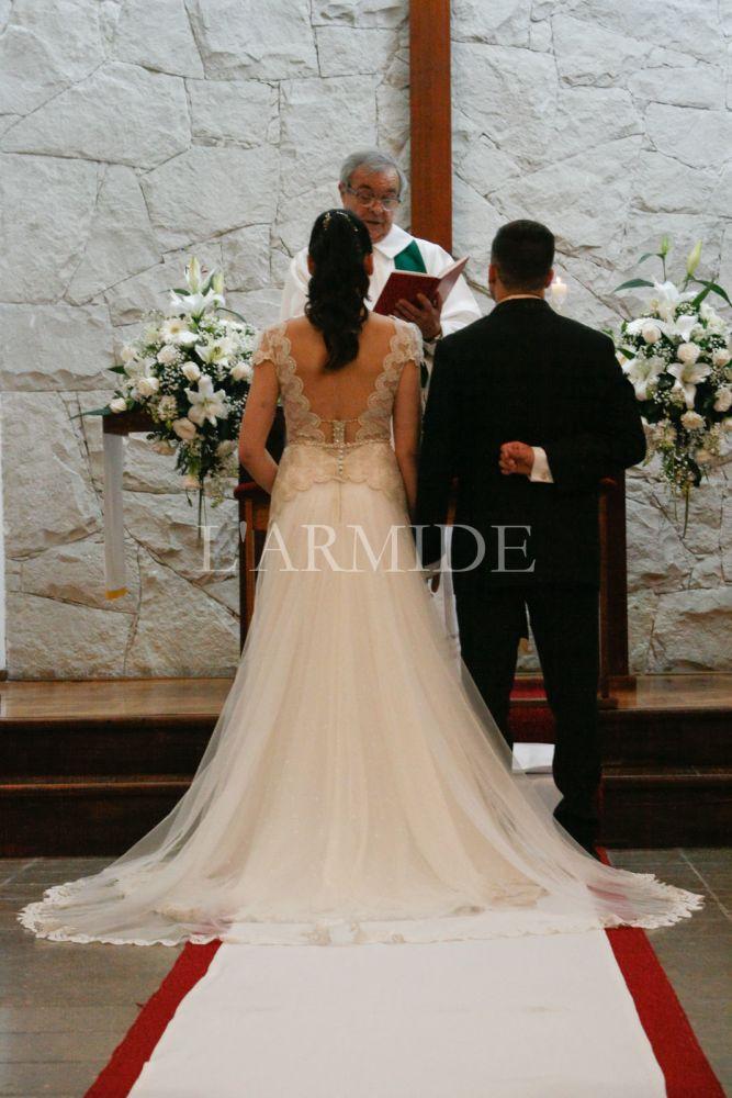 88dd8418b Romina – L ARMIDE – Vestidos de Novia – Buenos Aires – Argentina