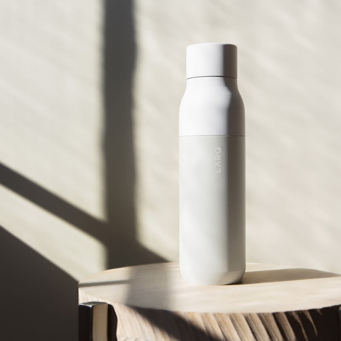 LARQ Insulated Bottle - Granite White