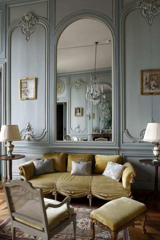 parisian glam interior design