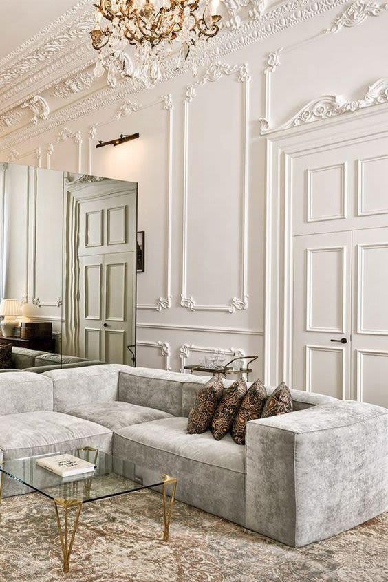 modern parisian interior design
